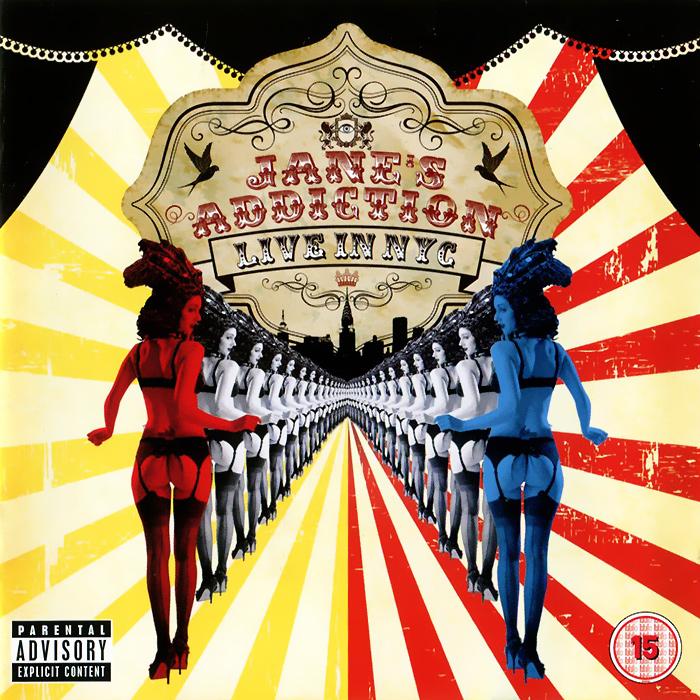 """Jane's Addiction"" Jane's Addiction. Live In NYC (CD + DVD)"