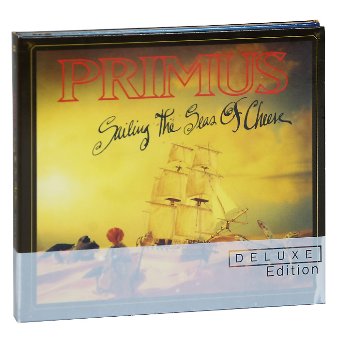 """Primus"" Primus. Sailing The Seas Of Cheese. Deluxe Edition (2 CD + Blu-ray)"