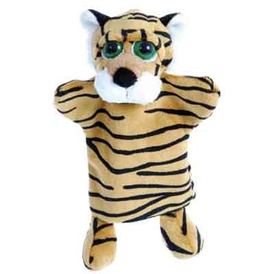 """Мягкая игрушка на руку Little Peepers """"Тигр"""", 25 см"""