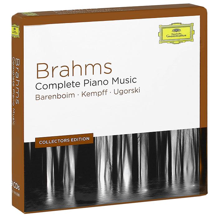 Barenboim, Kempff, Ugorski. Brahms. Complete Piano Music (9 CD)