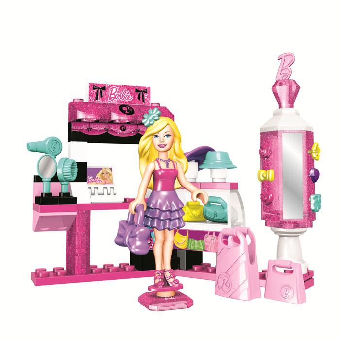 "Набор-конструктор Mega Bloks ""Barbie: Модница"", 71 элемент"