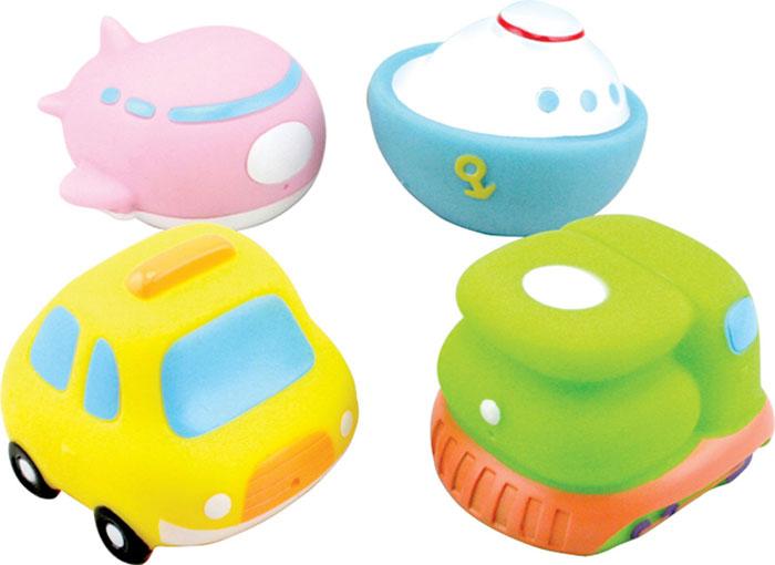 """Набор игрушек для ванны Курносики """"Кругосветное путешествие"""", 4 шт"""