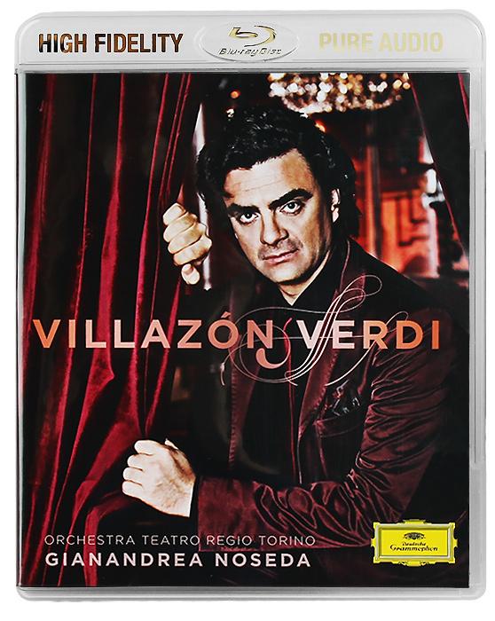 Роландо Виллазон,Orchestra Teatro Regio Torino,Жанандреа Нозеда Rolando Villazon, Orchestra Teatro Regio Torino. Gianandrea Noseda. Verdi (Blu-Ray Audio)