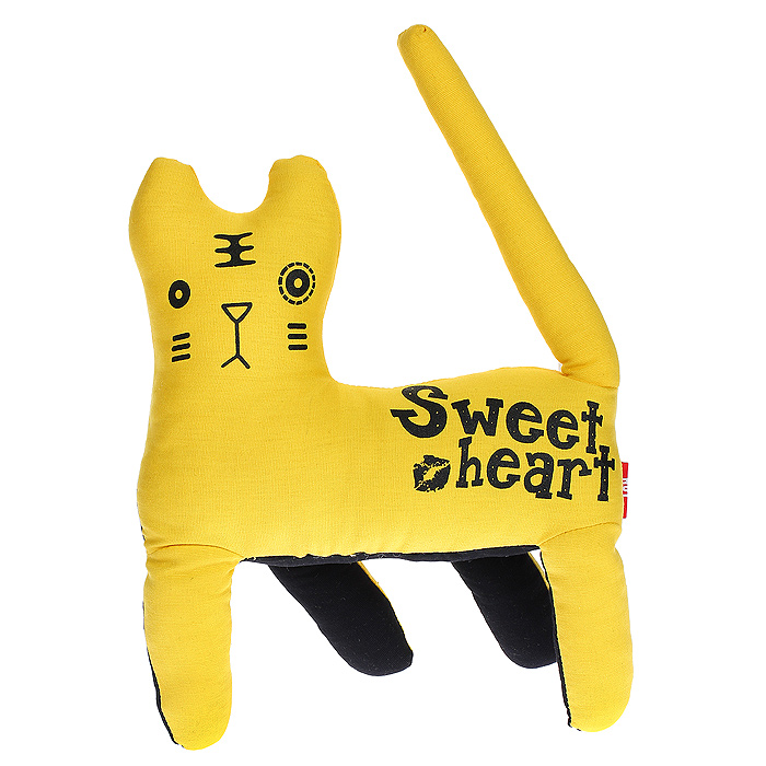 "Мягкая игрушка Yiwu Mingyu ""Тигр"", цвет: желтый, 25 см"