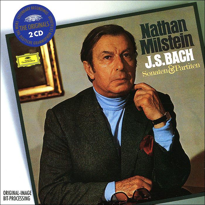 Нэтан Милстайн Nathan Milstein. Bach. Sonatas And Partitas (2 CD) лара лев lara lev bach sonatas and partitas for solo violin vol 1
