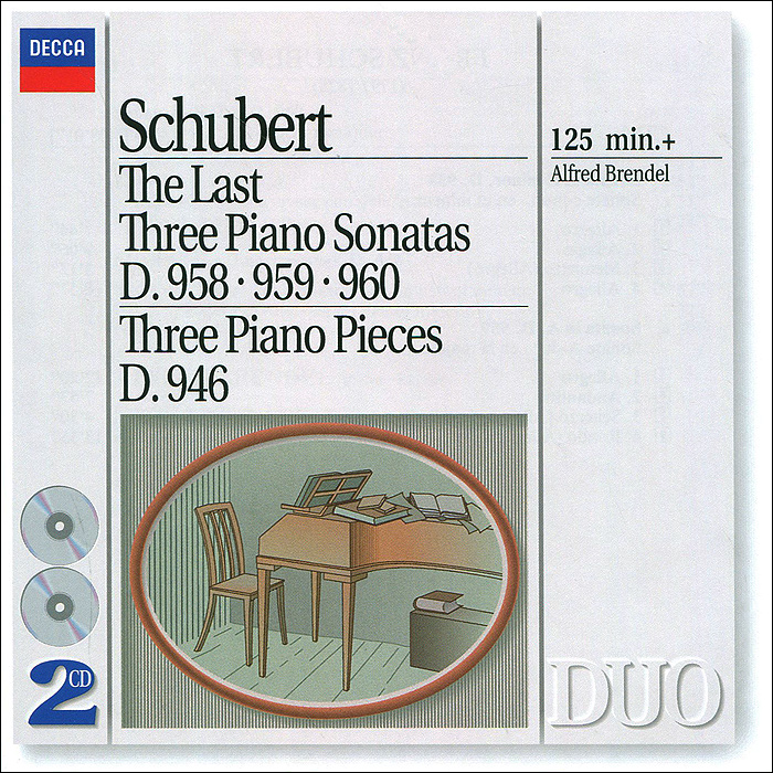 Альфред Брендель Alfred Brendel. Schubert. The Last Three Piano Sonatas (2 CD)