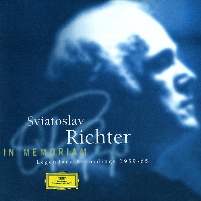 Святослав Рихтер Sviatoslav Richter. In Memoriam. Legendary Recordings 1959 - 1965 (2 CD) recordings