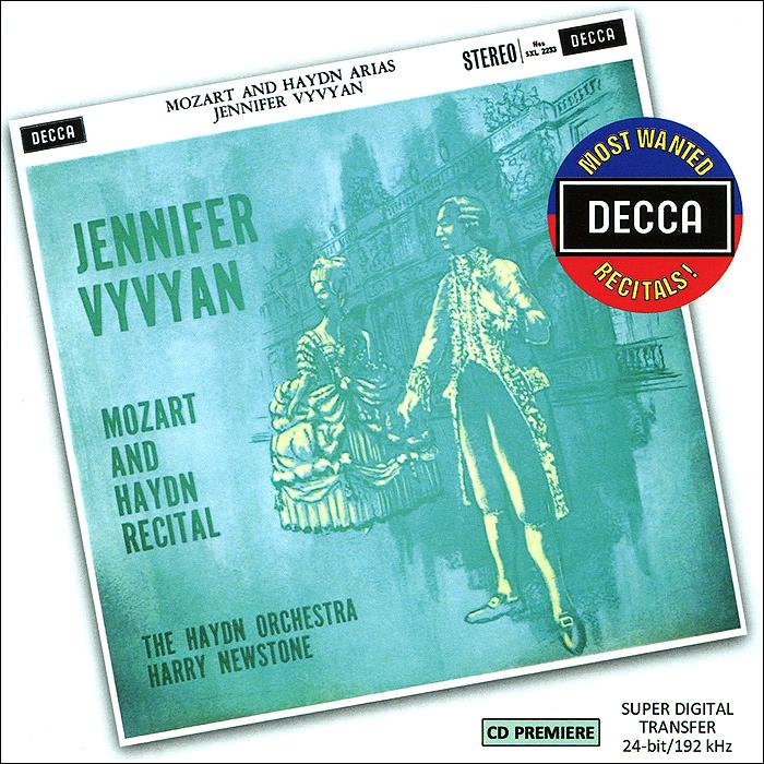 Дженифер Вивиан Jennifer Vyvyan. Mozart And Haydn Recital