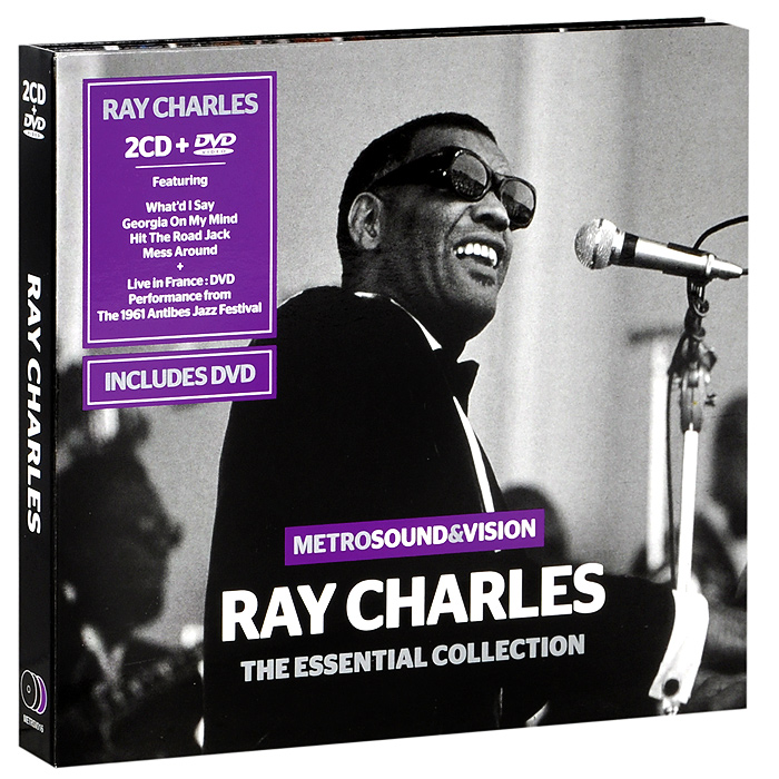 Рэй Чарльз Ray Charles. The Essential Collection (2 CD + DVD)