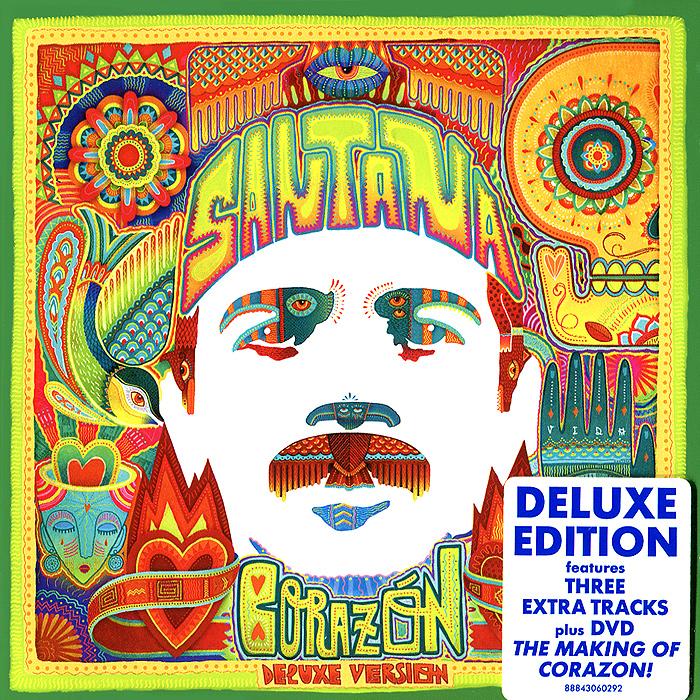 Santana Santana. Corazon. Deluxe Edition (CD + DVD)