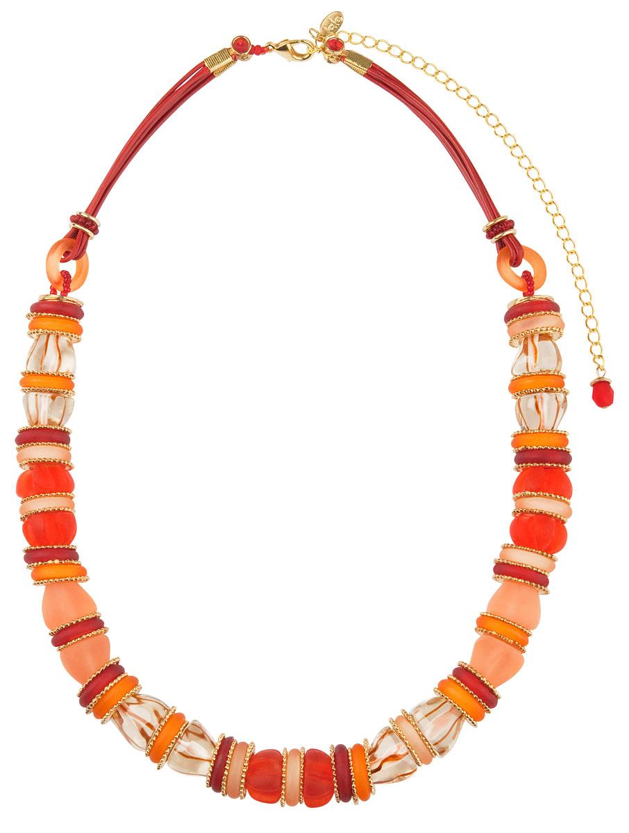 Ожерелье Lalo Treasures, цвет: мульти. N1484N1484Ожерелье Lalo Treasures на резинке выполнен из ювелирной смолы и пластика, которое закрывается на небольшой карабин. Ожерелье упаковано в мешочек из текстиля. Такое ожерелье позволят вам с легкостью воплотить самую смелую фантазию и создать собственный, неповторимый образ.