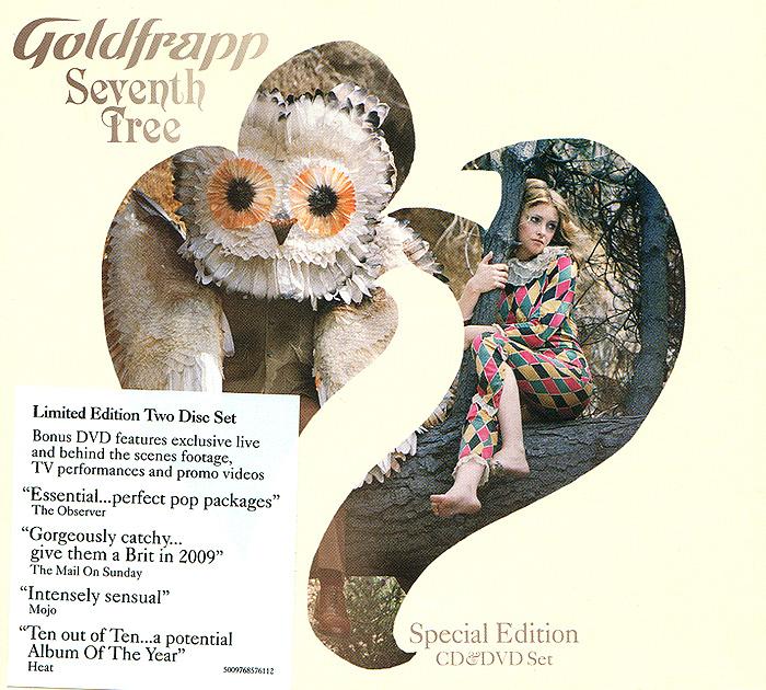 """Goldfrapp"" Goldfrapp. Seventh Tree. Limited Edition (CD + DVD)"