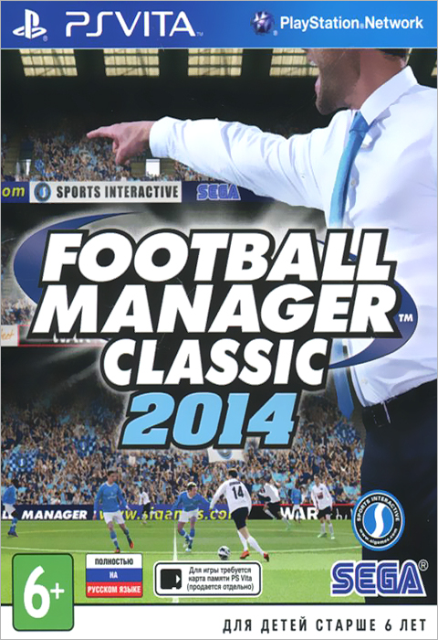Football Manager Classic 2014 (PS Vita) manager