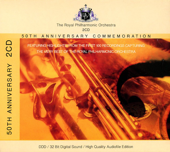 Royal Philharmonic Orchestra. 50th Anniversary Commemoration (2 CD) blackout 50th anniversary deluxe edition lp cd