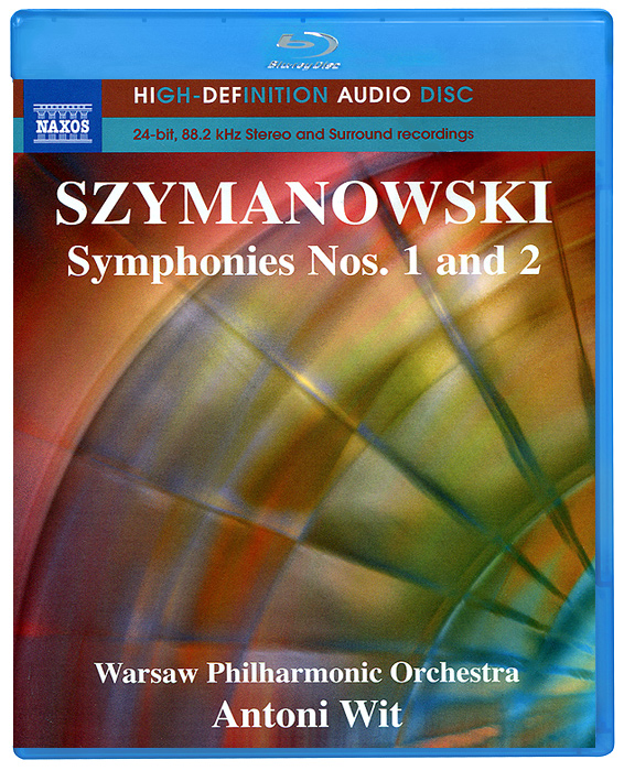 Ева Марзук,Марек Марзук,Warsaw Philharmonic Orchestra,Энтони Вит Szymanowski. Symphonies Nos. 1 And 2 (Blu-Ray Audio)