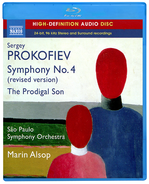 Sao Paulo Symphony Orchestra,Марин Элсоп Prokofiev. Symphony No. 4 (Revised Version) (Blu-Ray Audio)