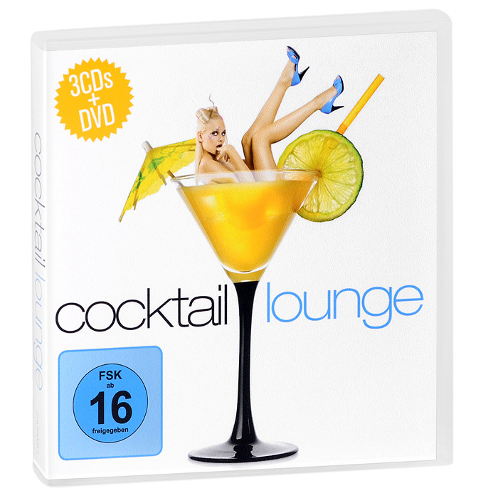 """Tafubar"",""Five Seasons"",Карен Гибсон Рок,Derrick,""Beach Hoppers"" Cocktail. Lounge (3 CD + DVD)"