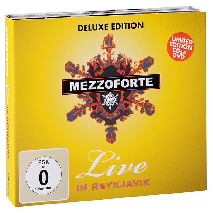 """""""Mezzoforte"""" Mezzoforte. Live In Reykjavik. Deluxe Edition (2 CD + DVD)"""