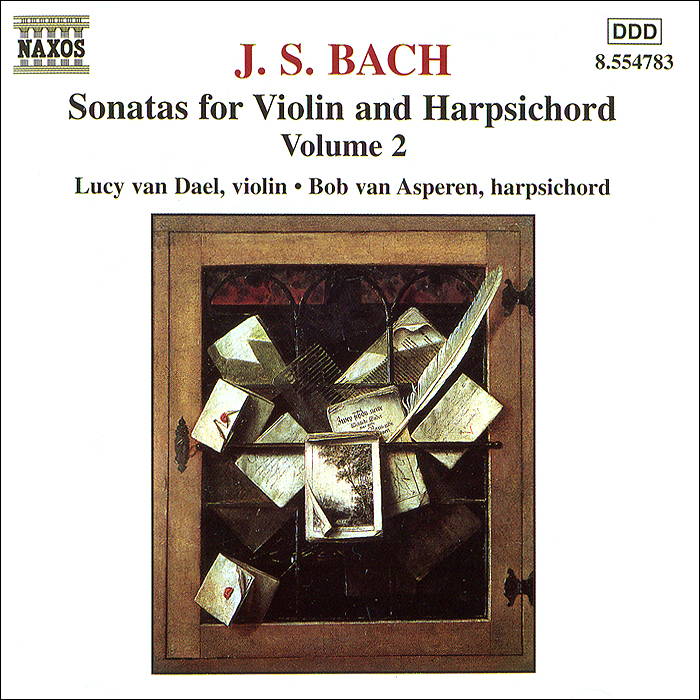 Люси Ван Дел,Боб ван Асперен J.S. Bach. Sonatas For Violin & Harpsichord, Vol. 2. лара лев lara lev bach sonatas and partitas for solo violin vol 1