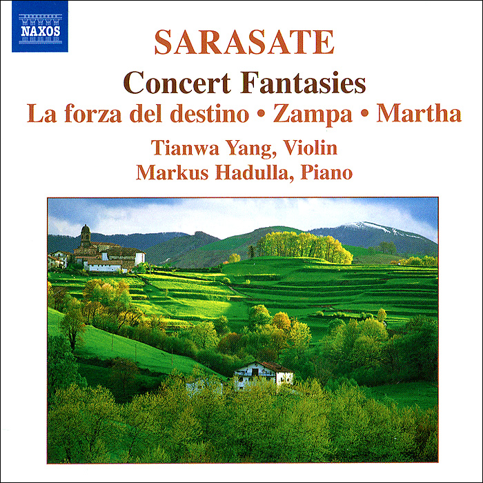 Тианва Янг,Маркус Хадулла Tianwa Yang, Markus Hadulla. Sarasate. Music For Violin And Piano. Vol. 2