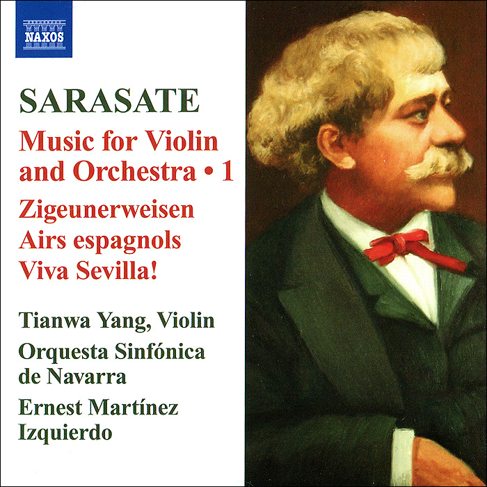 Тианва Янг,Violin Orquesta Sinfonica De Navarra,Эрнест Мартинес Искьердо Sarasate. Music For Violin And Orchestra. Vol. 1