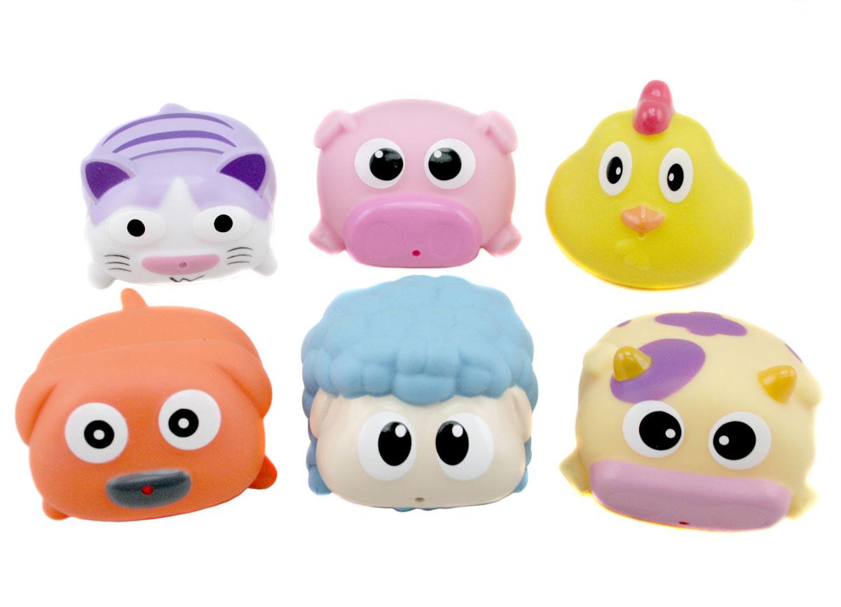 """Набор игрушек для ванны Курносики """"Милашки"""", 6 шт"""