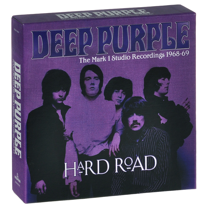 """Deep Purple"" Deep Purple. Hard Road: The Mark 1 Studio Recordings 1968-69 (5 CD)"