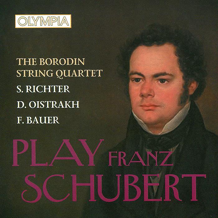 Квартет имени Бородина,Святослав Рихтер,Давид Ойстрах,Фрида Бауэр F. Schubert. Piano Quintet. Sonata