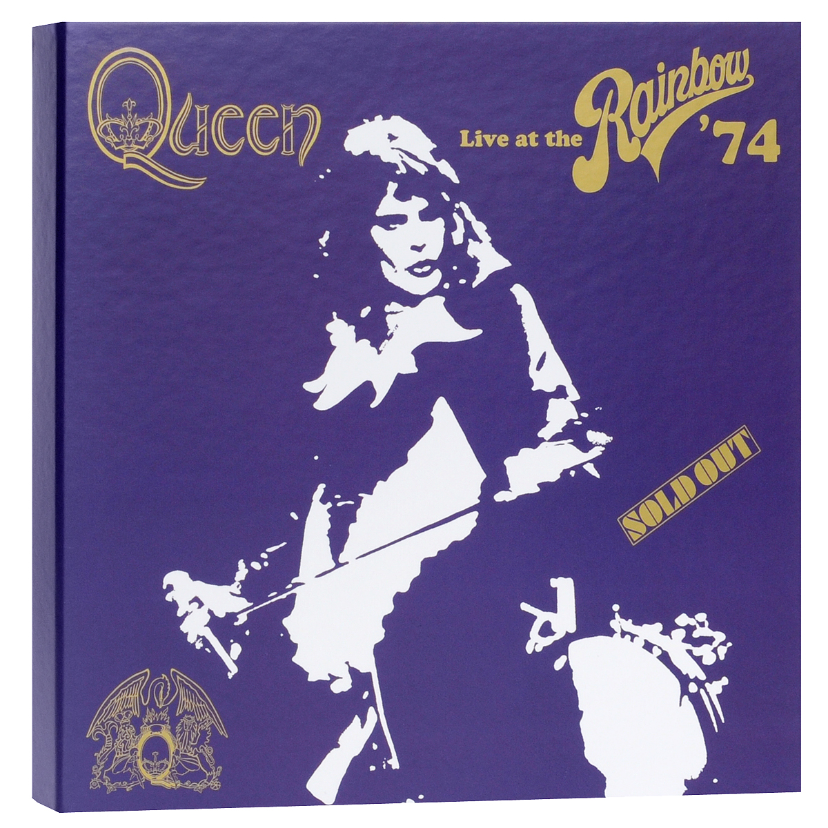 """Queen"" Queen. Live At The Rainbow'74 (2 CD+ DVD+ Blu-ray)"
