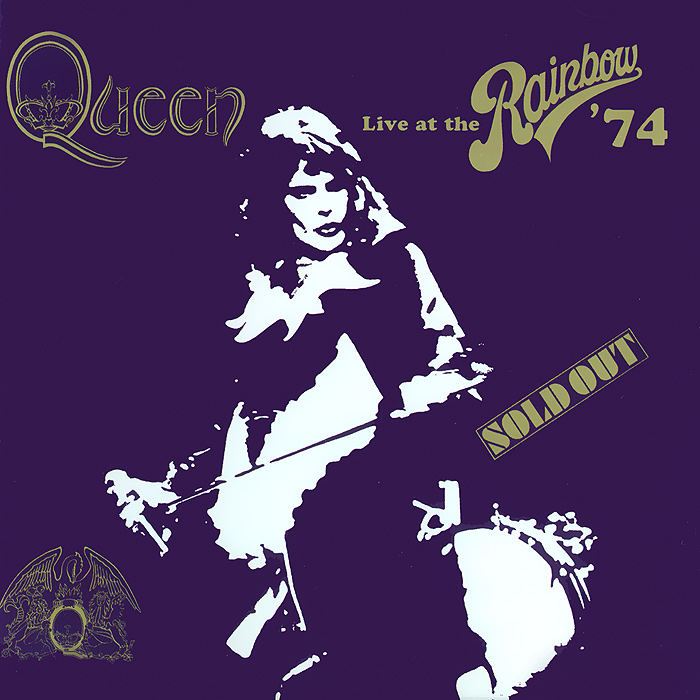 Queen Queen. Live At The Rainbow' 74 rainbow rainbow monsters of rock live at donington 1980 cd dvd