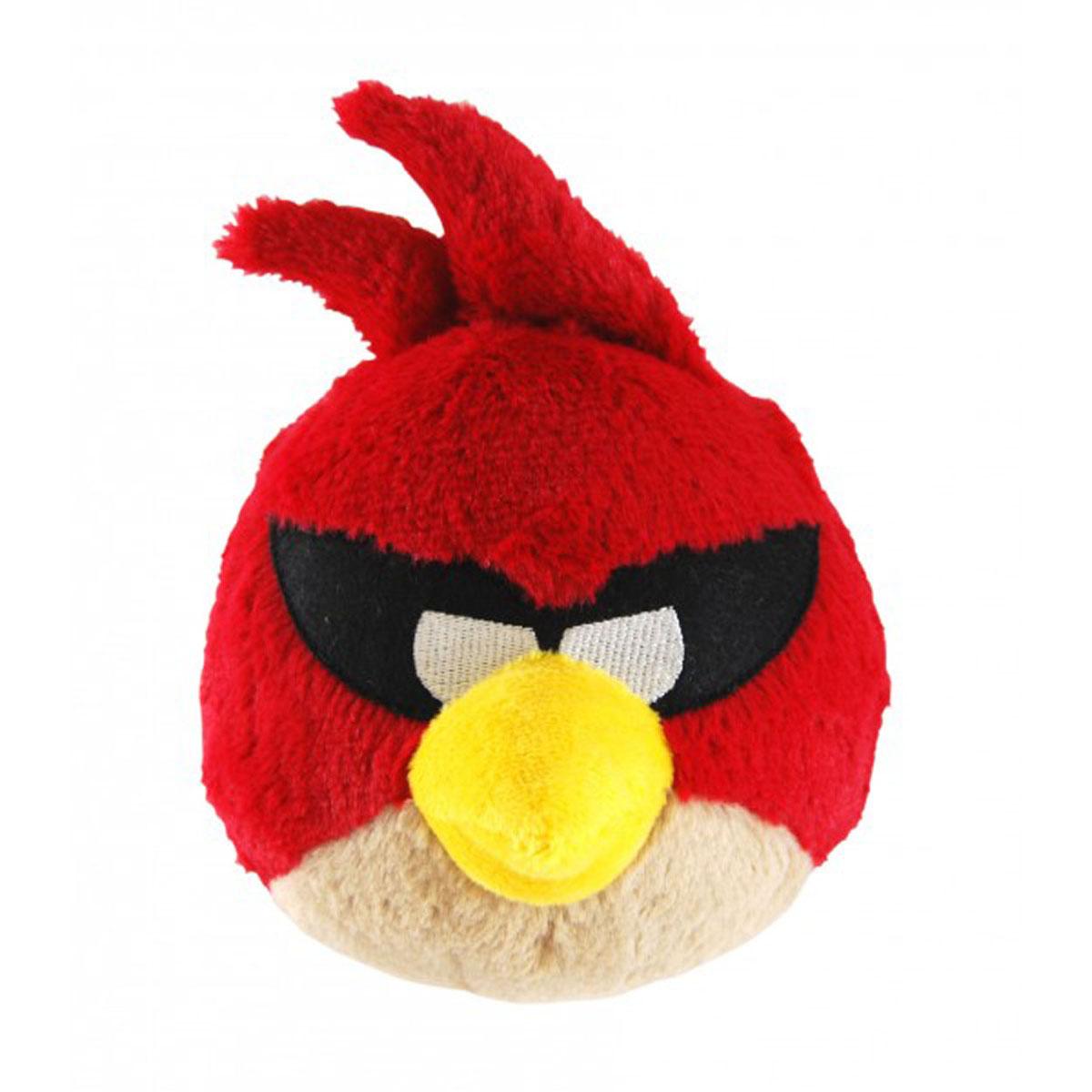 "Мягкая игрушка ""Angry Birds Space"", красная птица, со звуком, 40 см"
