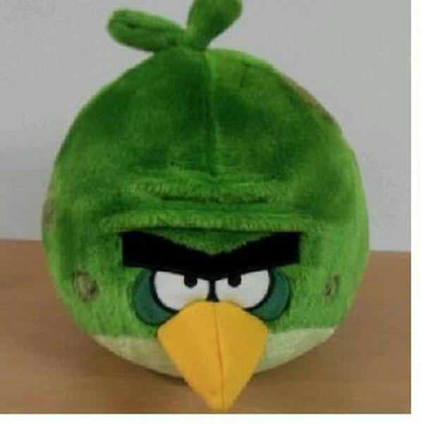 """Мягкая игрушка """"Angry Birds Space"""", зеленая птица, 22,5 см"""