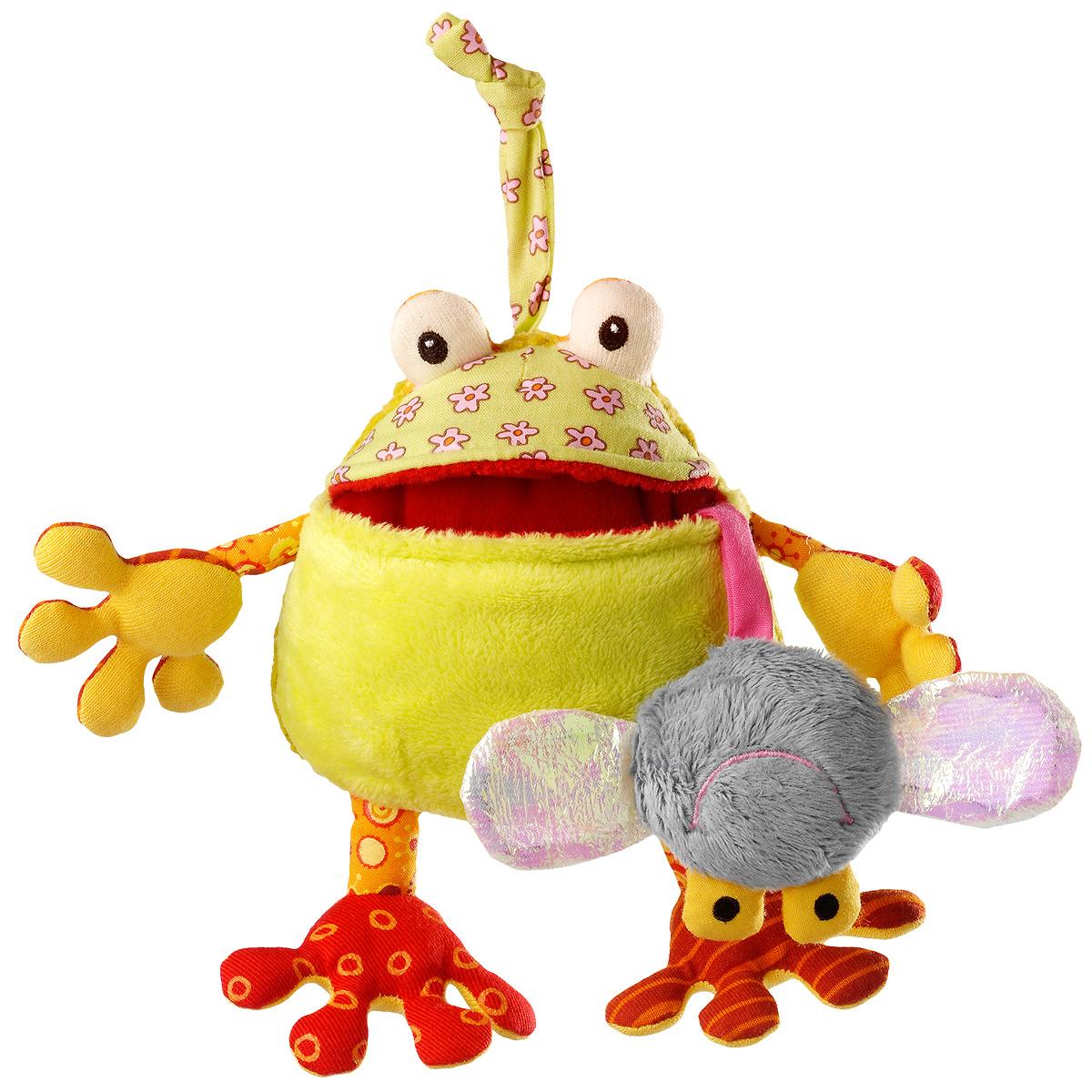 """Развивающая игрушка Lilliputiens """"Жаба Ромео"""", маленькая"""