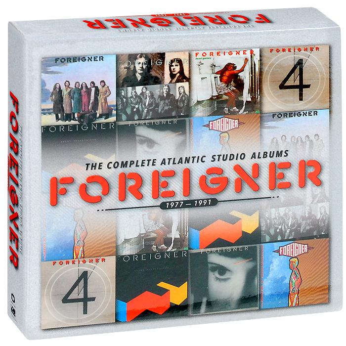 Foreigner Foreigner. The Complete Atlantic Studio Albums. 1977-1991 (7 CD) foreigner foreigner 40
