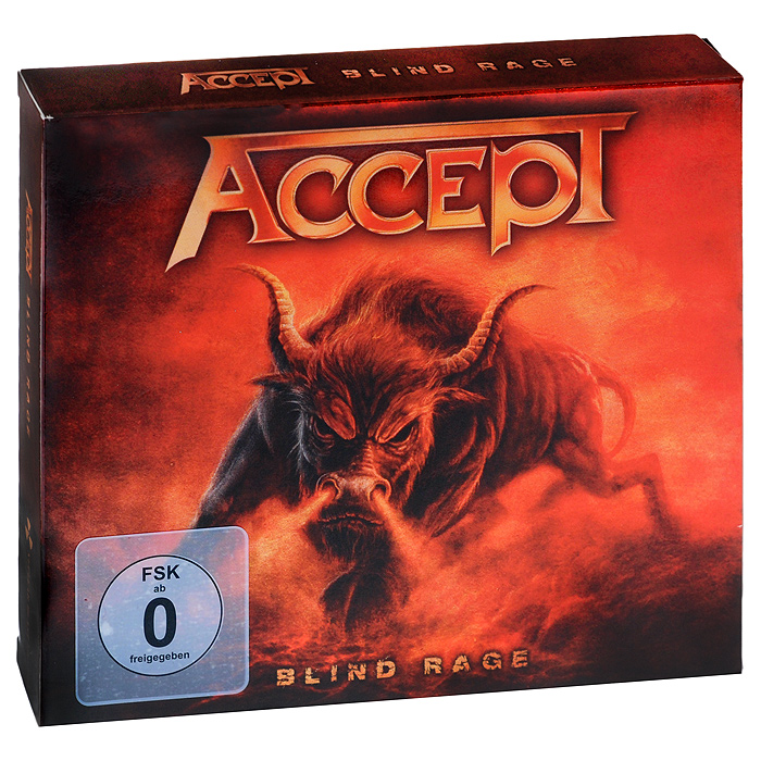 """Accept"" Accept. Blind Rage. Limited Edition (CD + Blu-ray)"