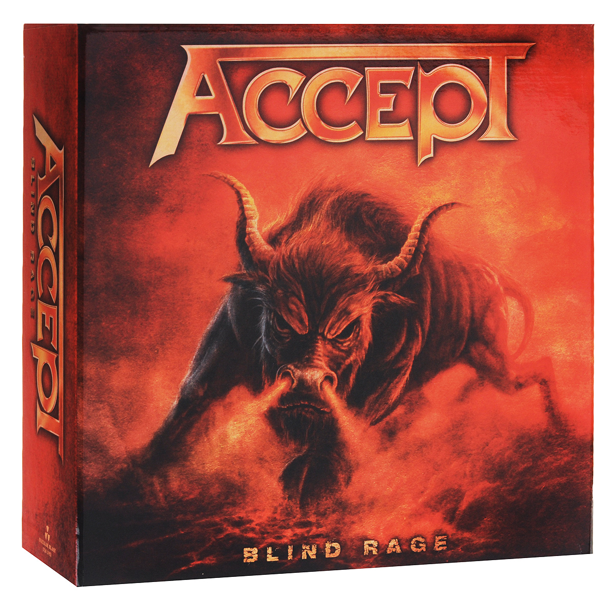 """Accept"" Accept. Blind Rage. Limited Edition (CD + Blu-ray + DVD + 2 LP)"