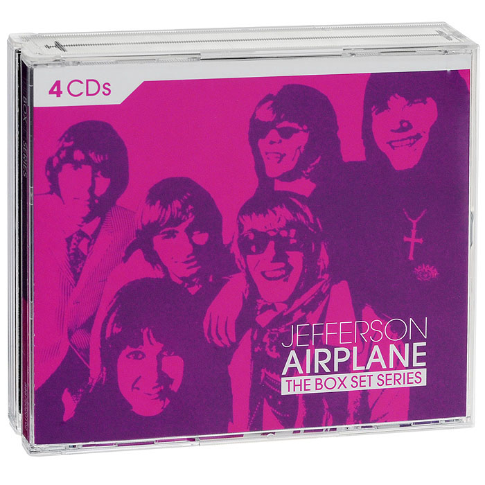 Jefferson Airplane Jefferson Airplane. The Box Set Series (4 CD) jefferson airplane jefferson airplane the woodstock experience 2 cd