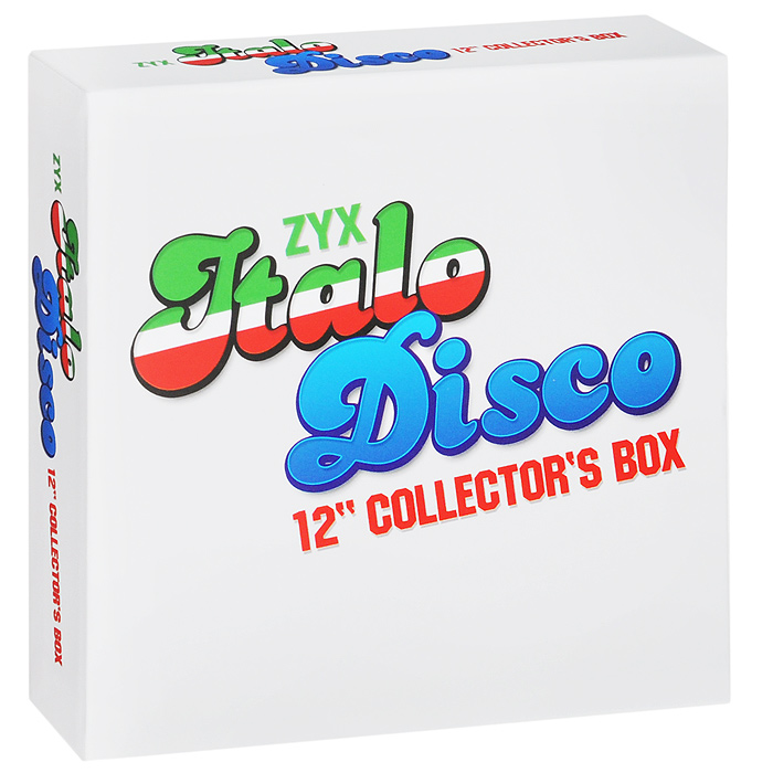 "Пи Лайон,Кен Лацло,""Radiorama"",""Laserdance"",""Plastic Mode"",Ли Мэрроу,""Italian Boys"",""Savage"",Дэн Хэрроу,""Scotch"" Italo Disco. 12 Inch Collector' Box (10 CD)"