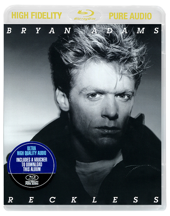 Брайан Адамс Bryan Adams. Reckless (Blu-ray Audio)