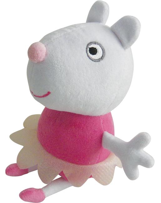 "Мягкая игрушка Peppa ""Овечка Сьюзи балерина"", 20 см"