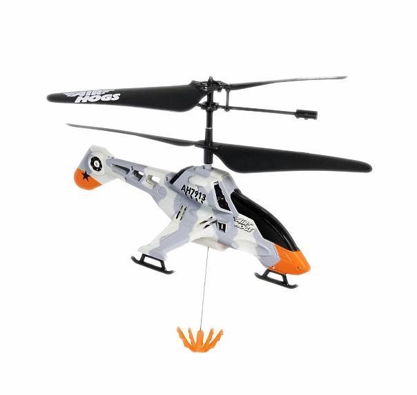 """Радиоуправляемая модель AirHogs """"Вертолет - подъемный кран"""", цвет: серый"""