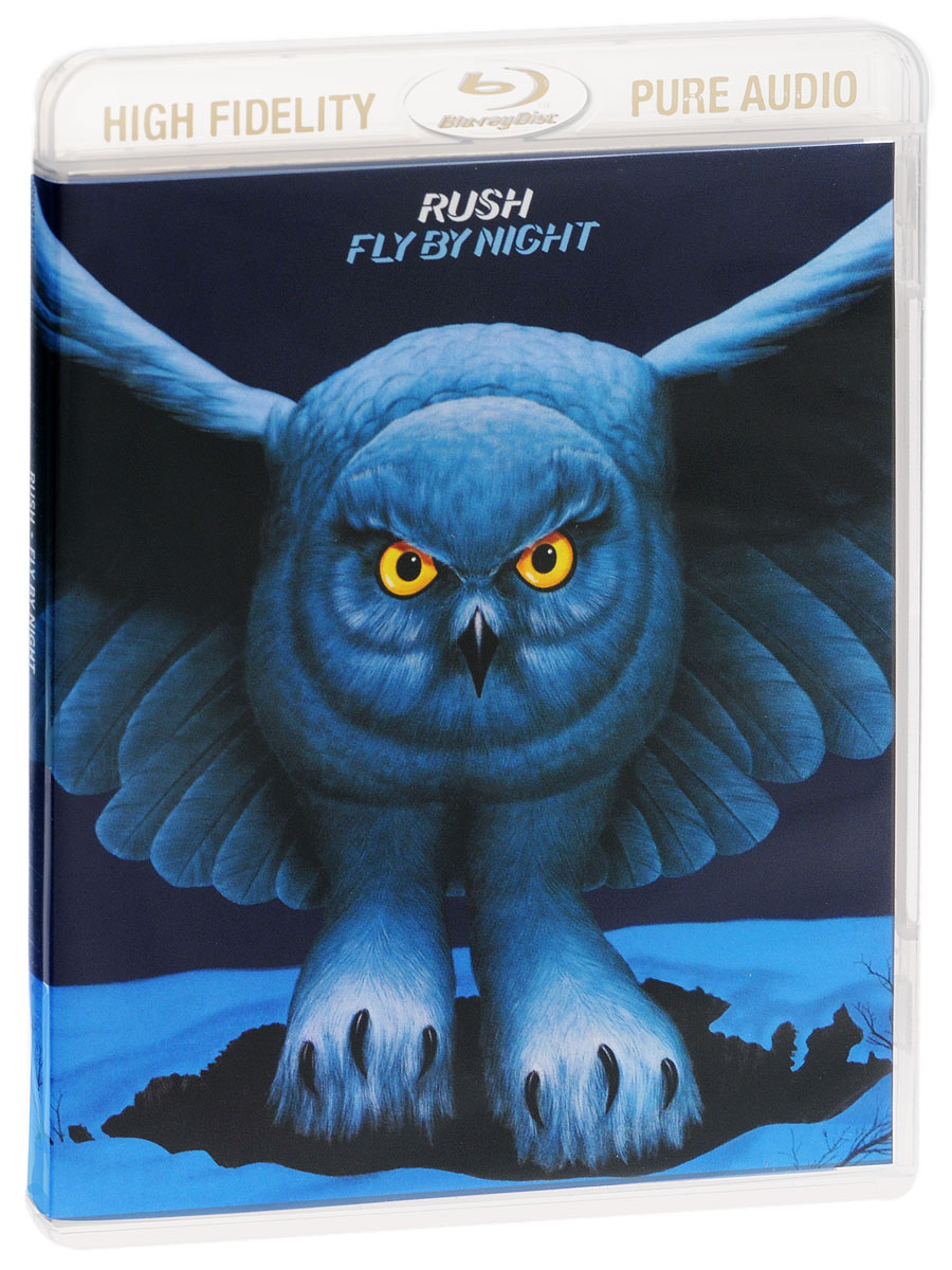 """Rush"" Rush. Fly By Night (Blu-ray Audio)"