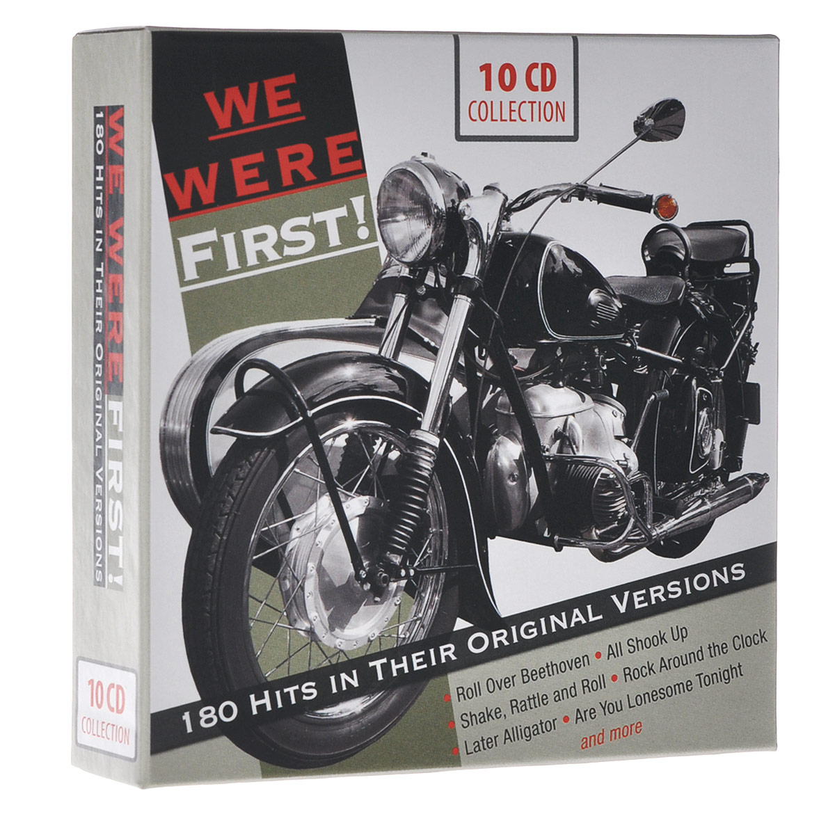 We Were First! 180 Hits In Their Original Versions (10 CD) we were liars