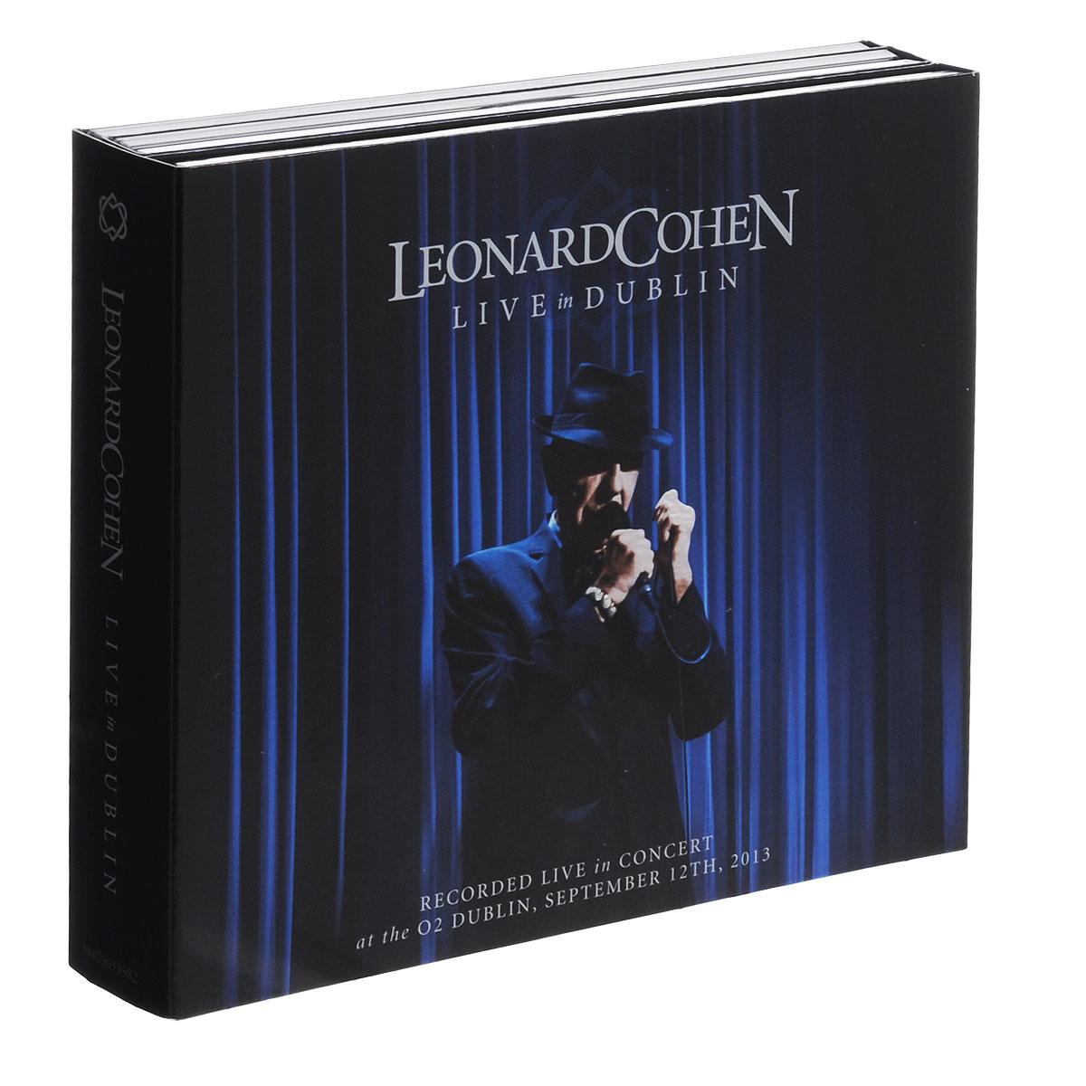 Леонард Коэн Leonard Cohen. Live In Dublin (3 CD + DVD)
