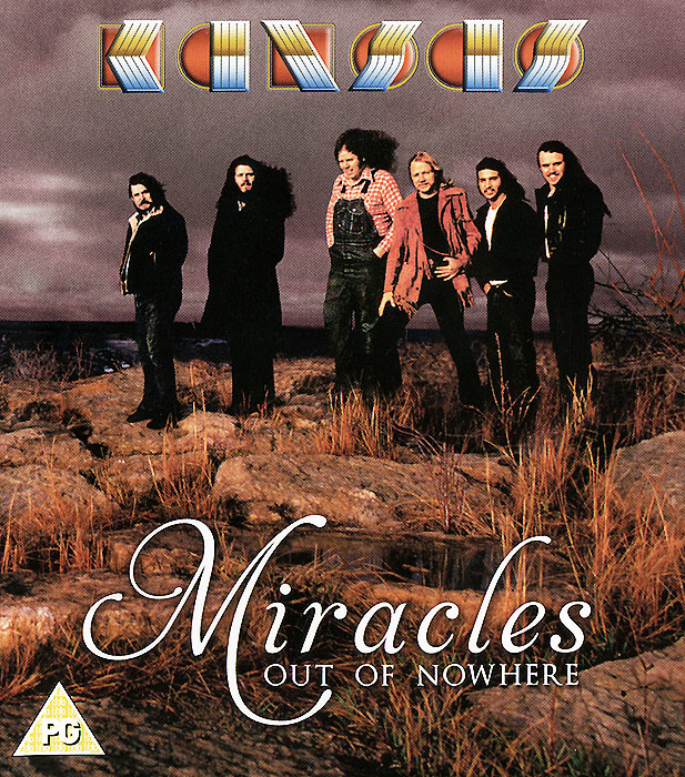 """Kansas"" Kansas. Miracles Out Of Nowhere (CD + Blu-Ray)"