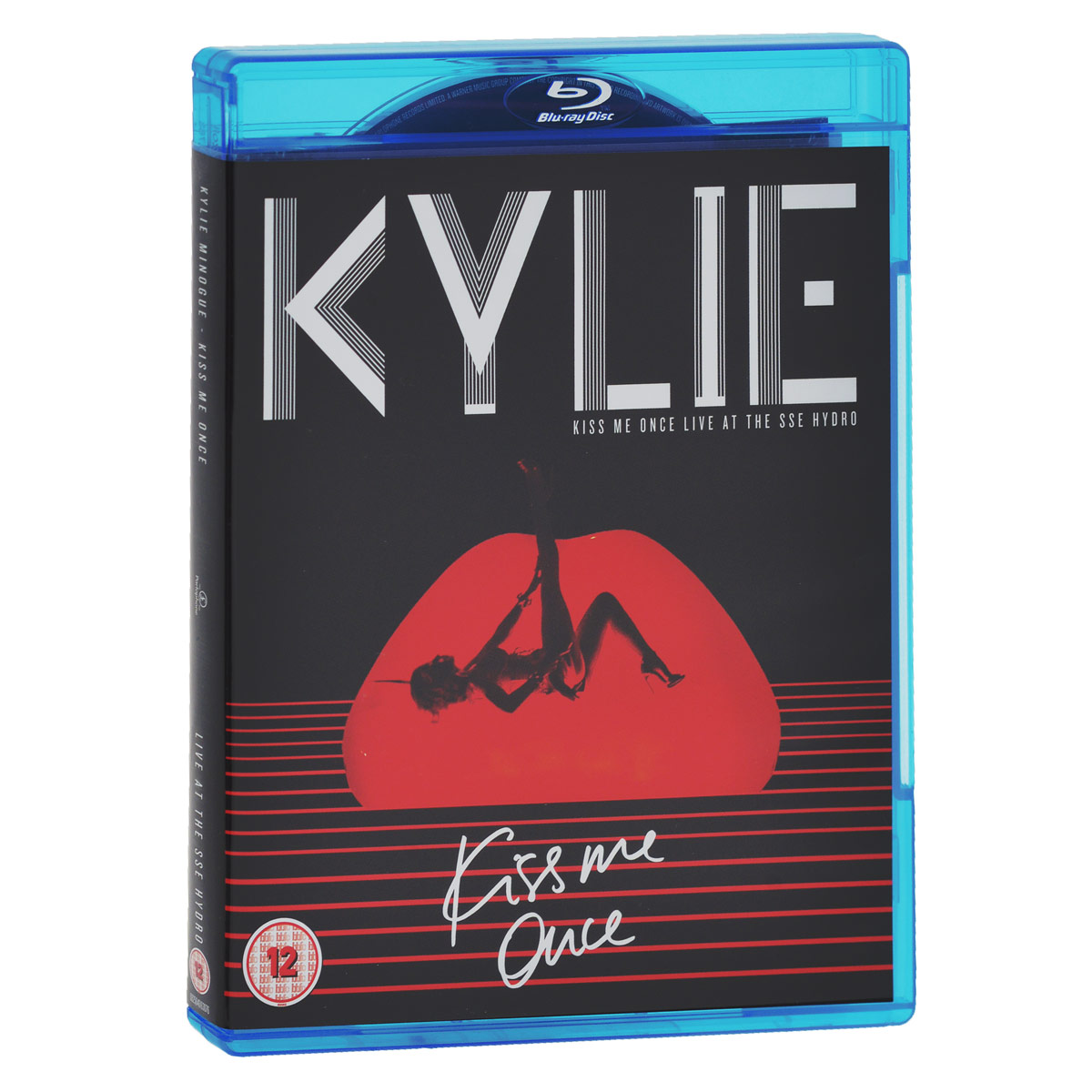 Кайли Миноуг Kylie Minogue. Kiss Me Once Live At The SSE Hydro (2 CD + Blu-ray)