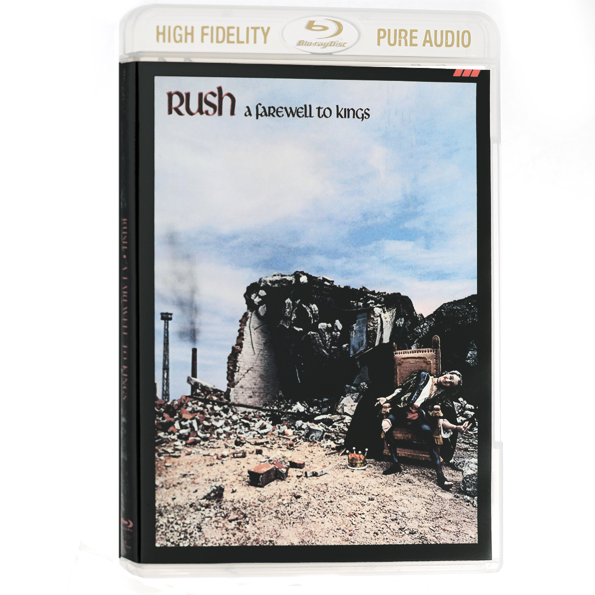 """Rush"" Rush. A Farewell To Kings (Blu-Ray Audio)"