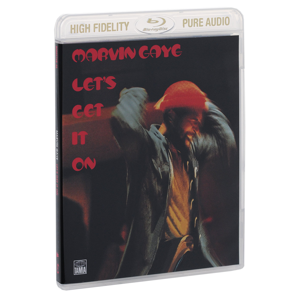 Марвин Гэй Marvin Gaye. Let's Get It On (Blu-ray Audio)