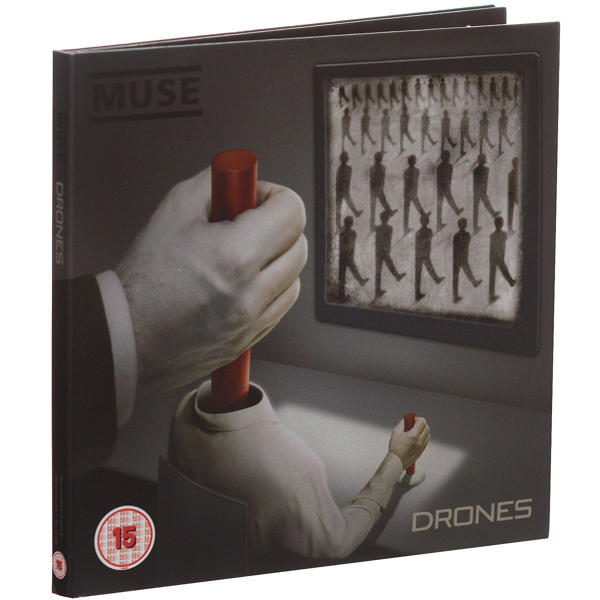 """Muse"" Muse. Drones (CD + DVD)"