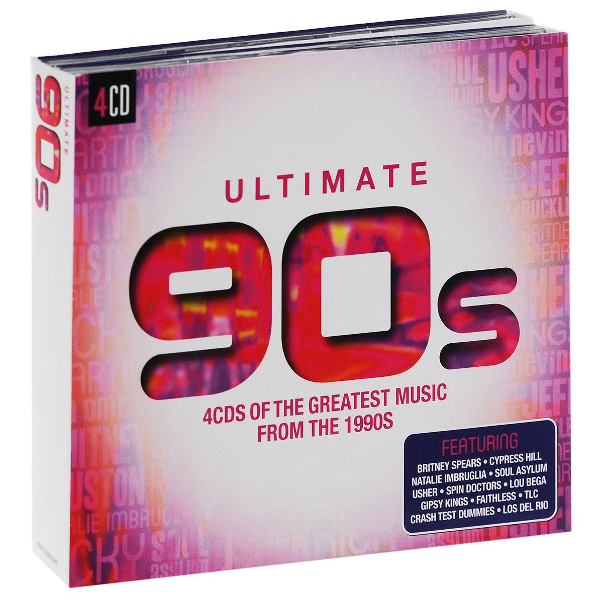 Faithless,Apollo 440,Scatman John,Rednex,B'Witched,Бетти Бу,Джеймс Лэнс,Los Del Rio,Лу Бега,Gipsy Kings Ultimate 90s (4 CD) gipsy kings gipsy kings the very best of